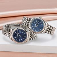 U1 новые лучшие качественные наручные часы влюбленные пары стиль автоматическое движение механические моды мужчины мужские женские женские часы часы