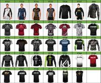 MMA Esportes Rashguard mangas compridas T-shirt