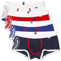 4pcs / lot So Cool! ROSE HEROES haute qualité coton pour hommes Sous-vêtements Impression Mode Hommes Boxer Bermudas Homme Panties