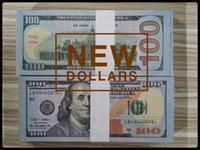 Доллар США Горячие продажи Поддельные деньги Фильмы Prop 100 Долларов Банковский Примечание Подсчет Од Деньги Праздничная партия Игры Игрушки Коллекции Toys Gifts NDN100