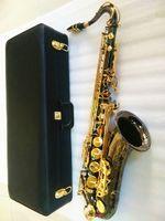 super prestazione professionale Tenor Sax B Flat Tune musicale migliore qualità di oro nero YANAGISAWA T-992 Tenor Saxophone