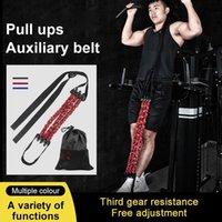 Bandes de résistance Fitness Stretch Stretch Band Bande d'assistance avec poignée de pied EXERCICE ARM Abdomen Muscle Film Equipment