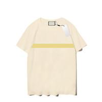 21ss 남자 티 패션 남성 여성 여름 티셔츠 3 색 24 스타일 편지 패턴 인쇄 망 짧은 소매 통기성 탑스
