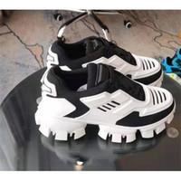 مصمم رجالي أحذية Cloudbust الرعد 50 قبالة الفاخرة حذاء المطاط وحيد النساء صفراء بيضاء عارضة المدربين في الهواء الطلق حجم 35-46