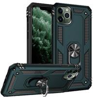 Darbeye Telefon Kılıfı iphone 12 Mini 12 için 11 Pro Max Xr Xs X Zırh Kickstand Koruyucu Kabuk için iphone SE 2020 7 8 Artı 6s 6