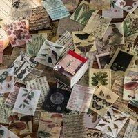366 pezzi di Van Gogh Pianta di colore Notizie Kraft Carta Carta Diario Diario Testa di pallottola Album fai da te Album Burro Materiale Adesivo Estetica