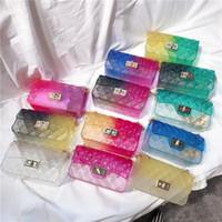 BESTKID DHL Frete Grátis! Novas sacos de geléia para meninas bebezas crianças verão moda moeda bolsa crianças crossbody bolsas novas cores doces bolsas BK058