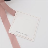 Tissu de polissage en argent Fit pour Pandora 925 Sterling Sterling Charm Bead Bracelet Collier Collier Mode Bijoux Nettoyants Polonais