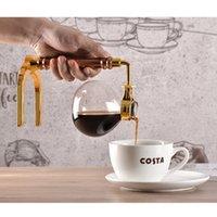 Estilo japonês sifão cafeteira chá siphon pote coffeeemaker tipo vidro máquina de café filtro mar frete hhe3796