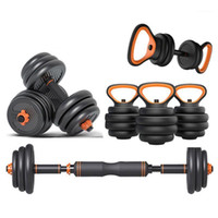 Fitness Dumbbell Set Placas de Peso Home Gym Workout Confortável Barbell Kettlebell Equipamento Dumbbell 10kg / 20kg / 30kg / 40kg1
