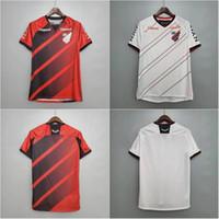 2020/21 Atletico Paranaense Futbol Forması 2021 # 19 Paranaense Marcelo Gömlek Mens # 20 Athletico Rony Eve Uzaktan Futbol Üniforması