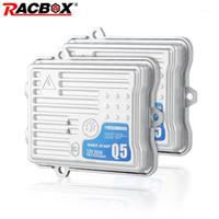 Outros sistemas de iluminação RACOX AC 12V 70W 55W Xenon HID Slim Ballast Q5 F7 rápido início rápido C5 Canbus H1 H3 H7 H8 H9 HB3 Hb4 Car Retrofit1