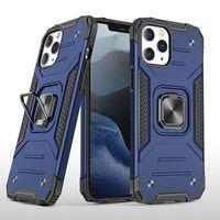 Per iphone 12 caso pro max di iphone 11 pro caso max x xr xs cassa del telefono max 8 più resistente agli urti anello cavalletto