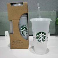 24oz Tumblers Plastic Drinking Juice Cup With Lip And Straw ...