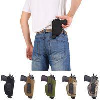 2 Высокая кабинета тактическое левое правое ручное оружие скрытое носитель Colsters ремень металлический клип регулируемый пистолет универсальный пистолет кобур