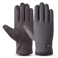 Зимние теплые перчатки мужские лыжные варежки зимние перчатки Guantes Moto мужчины водонепроницаемый теплый лыж1