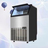 Trituradores de hielo Shavers Hacienda automática Máquina comercial o hogar para la cafetería de la barra Tienda de leche Cubo eléctrico Portable1