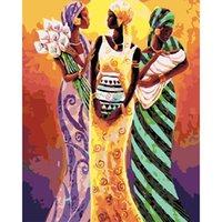 Creative Stepping Peinture par chiffres Coloriage Main Painteté Décor Home Kits Dessin Toile DIY DIY Peinture à l'huile Photos par chiffres