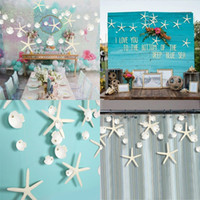Bandiera a due lati Starfish Shell Bandiera Originalità Originalità Ocean Style Room Party Dressing Flower Tirare il Blocco dell'OPP 5 5ks2 J1