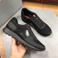 2021Fashion Erkekler Naylon Lüks Kıdemli El Yapımı Spor Ayakkabı Rahat Spor Ayakkabı Için Yeni Moda Dikiş Renk Tasarımcısı Yüksek Kalite Ayakkabı