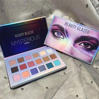 Eye Shadow Beauty Glazed 18 Colori Nude Glitter Eyeshadow Ombretto Palette Shimmer Matte Polvere Impermeabile Trucco in polvere Kit cosmetico