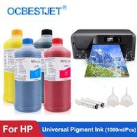 Kit di ricarica inchiostro 1000ml / bottiglia Pigmento universale per 178 364 655 670 711 862 920 932 950 951 952 953 955 970 970 978 981 Stampante