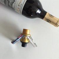 Штабная стойка для шампанского из нержавеющей стали может записать время силиконовые вакуумные буквы красные винные стопперы бар аксессуары 5 5JZ E1