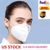الولايات المتحدة STOCK 3-6 يوم تسليم PM2.5 الغبار مكافحة الغبار 95٪ تصفية قناع تنفس مريح المعادن الأنف قناع في الهواء الطلق واقية الميزات
