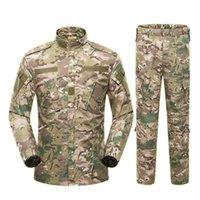 13color Army Men Uniform abito tattico CP forze speciali di combattimento Camicia Cappotto insieme della mutanda del camuffamento Militar Soldier Abbigliamento
