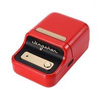 B21 Tragbare thermische Etikettendrucker Kleidung Schmuckkabel Aufkleber Etikett Handy Bluetooth Mini Pocket Handheld Drucker1