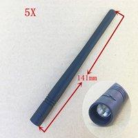 Walkie Talkie 5 adet / grup VHF Uzun Kırbaç Anten Vertex Standart VX132 VX351 VX354 VX414 VX417 VX168 VX177 VX228 vb