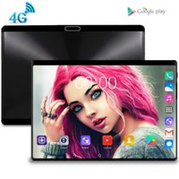 Tablet PC 2021 10.1 inç Android 9.0 Tabletler 8 GB + 128 GB Octa Çekirdek 3G 4G LTE Telefon Çağrı IPS WIFI GPS 10