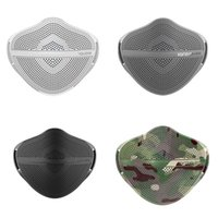 Kanshouzhe جديد XL قناع قابل للغسل قابلة لإعادة الاستخدام قناع الوجه منفصل الأنف سلامة الغبار أقنعة الفم الغبار مع 5 قطع مرشحات 67 P2