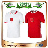 20/21 # 9 Lewandowski Soccer Jersey 2021 Home # 15 Glik # 19 Szymanski # 20 Zielinski بعيدا المنتخب الوطني قمصان كرة القدم
