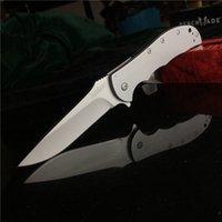 Kershaw 3655 Volt Ss 8CR13MOV Wulst perlengestrahlt 410 rostfreier Griff Flipper-faltendes Messer-Selbstverteidigung Edc Taschen Tactical Jagdmesser