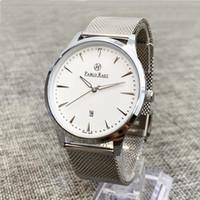 Pablo Raez Ultra sottile moda maschio orologio da polso Top Brand Business Business Watch impermeabile antigraffio antigraffio uomo maglia cinturino