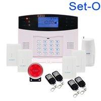 أنظمة الإنذار 433 ميجا هرتز نظام صوتي موجه لاسلكي GSM الرئيسية نظام الأمن مع 850/900/1800 / 1900MHZ1