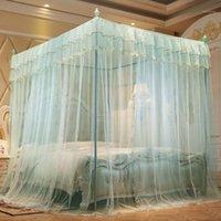 모기장 세 문 공주 풍력 바닥 브래킷 암호화 두꺼운 1.5 법원 1.8m1.2 M 침대 더블 홈 1