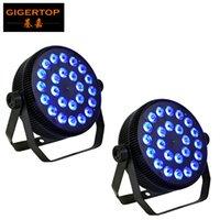 24 stücke 12W LED Lampe Perlen 24x12w LED Par Lights RGBW 4in1 flache Par led dmx512 Disco Lights Professionelle Bühne DJ-Ausrüstung