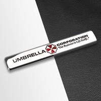 سيارة التصميم 3d المعادن مظلة الشركات شعار ملصق الشارات لسيارات بي ام دبليو أودي تويوتا بيجو سوزوكي سيتروين فيات سكودا Accessorie