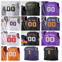 Custom Screen Printed Devin 1 Booker Chris 3 Paul Deandre 22 Ayton Mikal 25 Bridges Jae 99 Crowder Men Woman Kids Youth Basketball Jerseys