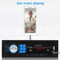 Doooler Neues Auto BT Music Player SWM-8013 Freisprecheinrichtung Car Kit Portable Audio Player FM Radio Support U Diskette / TF-Karte / Aux in LJ201016