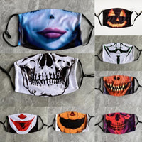 XwW9f Cover Cotton Pumpkin Halloween Mask Face Cosplay Spoof...