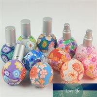 20 stücke x 15ml Polymer Clay Spray Flasche Reise Nachfüllbar Glasflasche Parfüm Leerer Zerstäuber Behälter Mix Farbe