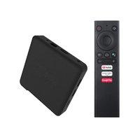 KM1 ATV 안드로이드 9.0 TV 박스 Amlogic S905X3 쿼드 코어 2GB / 16GB 4GB / 32GB 4GB / 64GB 2.4G / 5GWIFIBLUETOOTH 스마트 셋톱 박스 BB