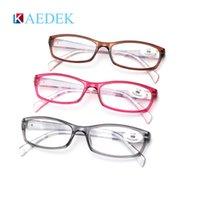 Kaedek modfans lisant des lunettes femmes rondes surdimensionnées de lunettes incessibles pour femmes lisant des lecteurs informatiques cadre flexible plastique