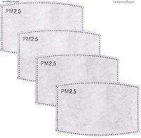 PM Pad Ship! Maschera Ply 2.Mask Free DHL Frespibile Filtro traspirante PM2,5 5 Carta per la foschia Face Mask Attivato Anti Anti Anti Polvere Er Ounkvs