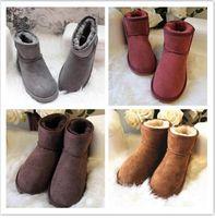 Hot Sell NEW Australie Classic Bottes chaudes US GS 585401 Bottes de neige pour femmes US5-11 gratuit Shippinng