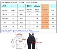 2020 الشتاء أسفل سترة لفتاة ملابس الاطفال وزرة snowsuit طفل رضيع على معطف طفل السنة الجديدة الملابس مجموعة سترة الفراء الحقيقي LJ201128