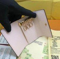 Key Beutel Pochette Cles Enveloppe carte de Besuche Womens Herren Schlüsselanhänger Kreditkarteninhaber Münze Geldbörse Brieftasche Charme Pochette Accessori mit Box